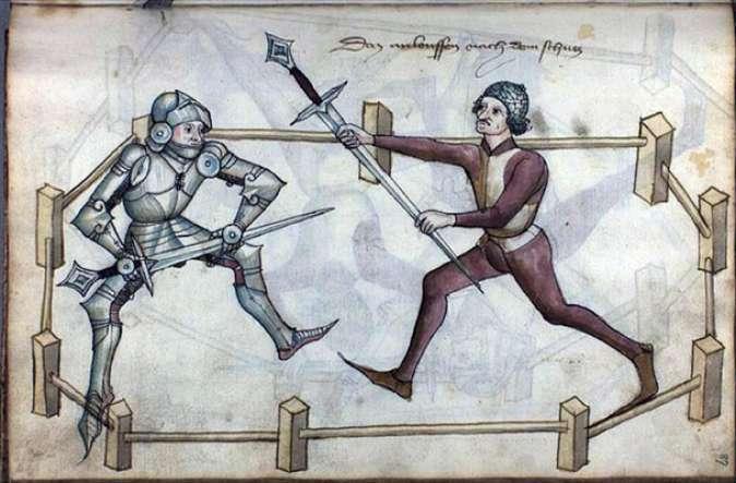 Рыцарские боевые искусства