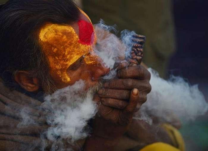 Колоритные портреты Индуистских паломников