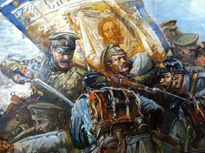 Бой За Знамя 29-Го Черниговского Пехотного Полка Под Орлау