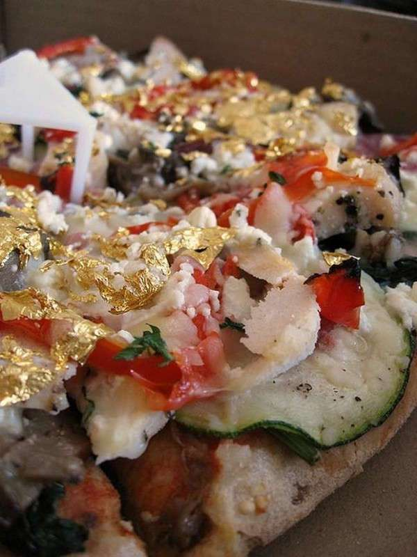 Самые дорогие в мире пиццы