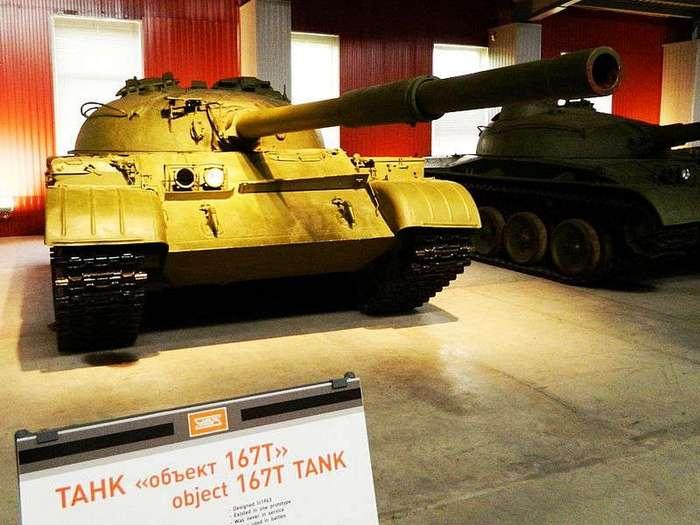 Первые газотурбинные танки