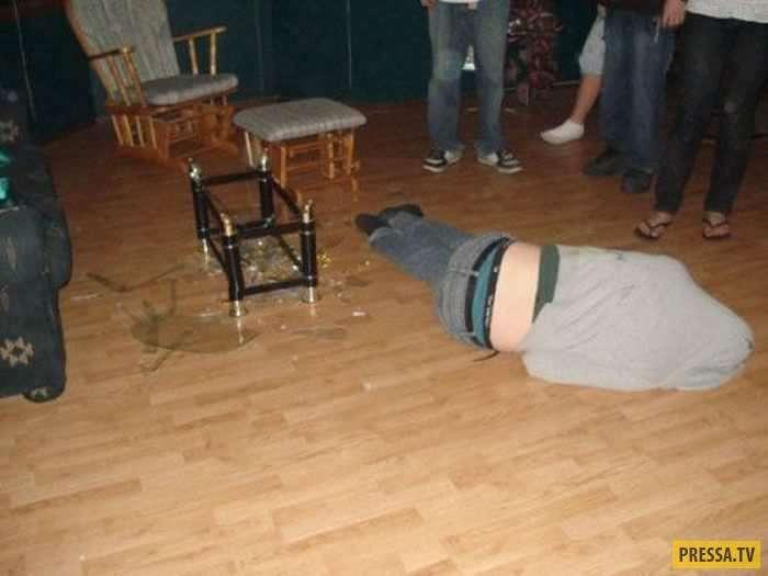 Пьяные и потому смешные люди (37 фото)