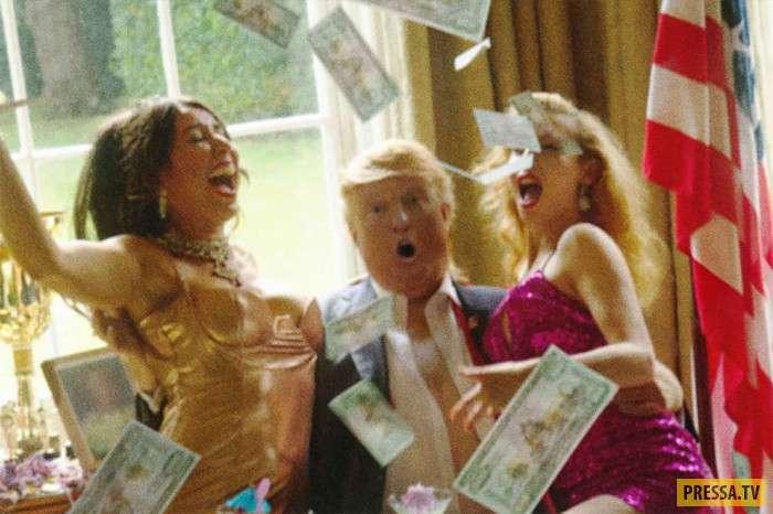 Фальшивый компромат на президента США Дональда Трампа (9 фото)