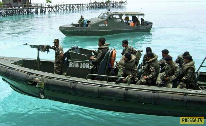 ТОП-10 мест, где вас могут взять на абордаж пираты (10 фото)