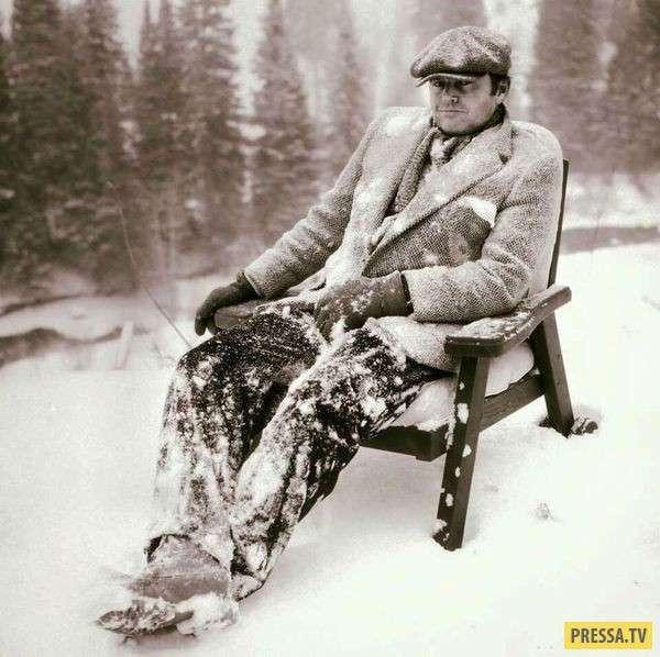 Редкие исторические фотографии знаменитостей (25 фото)