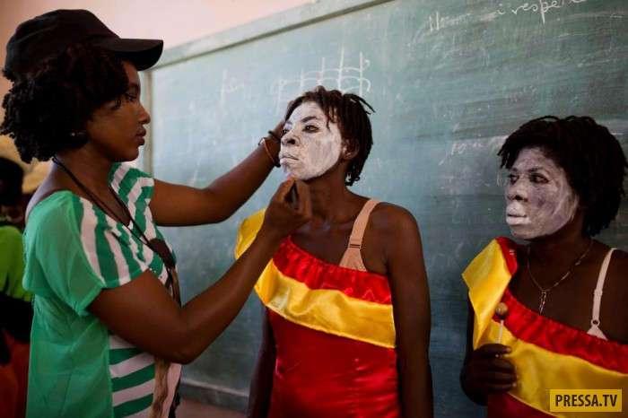 Карнавал колдунов и ведьм на Гаити (30 фото)
