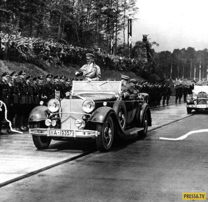 История немецких автобанов (8 фото)