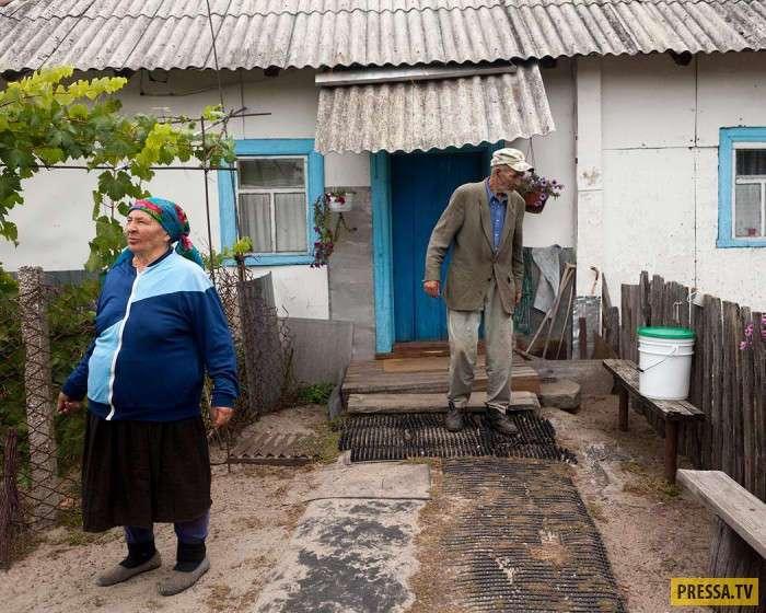 Жизнь в Чернобыльской зоне отчуждения (9 фото)