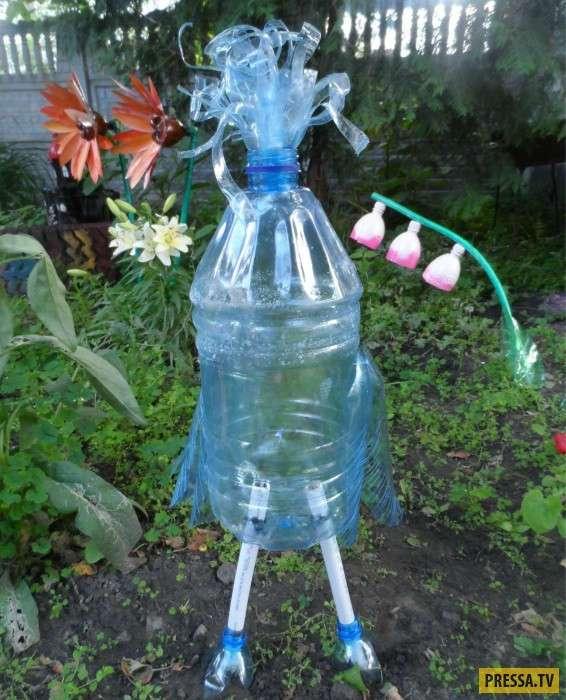Невероятные полезности из пластиковых бутылок своими руками (21 фото)