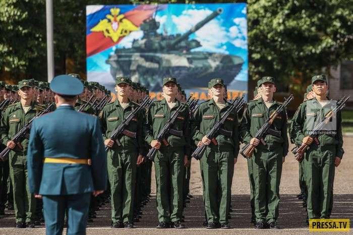 Как курсанты пулемет Калашникова потеряли