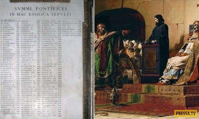 """""""Трупный синод"""" - одно из самых странных и жестоких событий в истории католического папства (5 фото)"""
