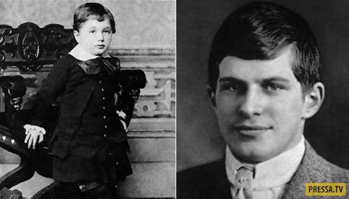 Загубленная жизнь самого известного вундеркинда начала 20 века - Уильяма Сидиса (7 фото)