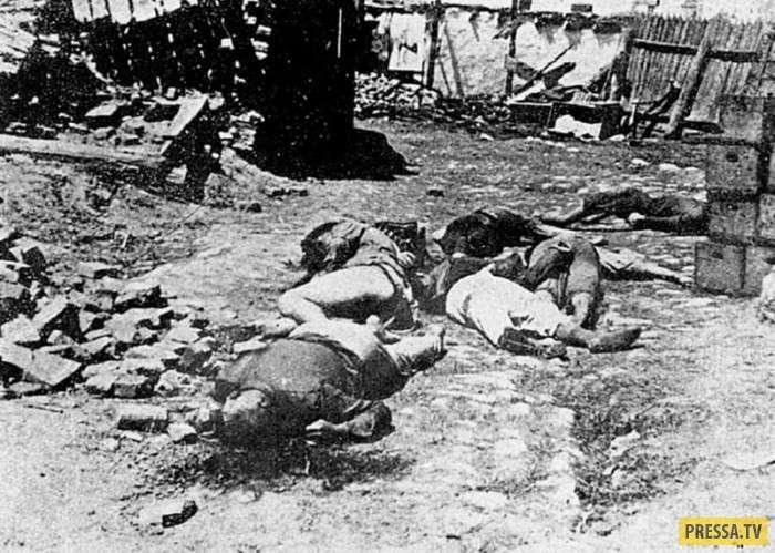 Ужасные фотографии времен Второй Мировой войны (16 фото)