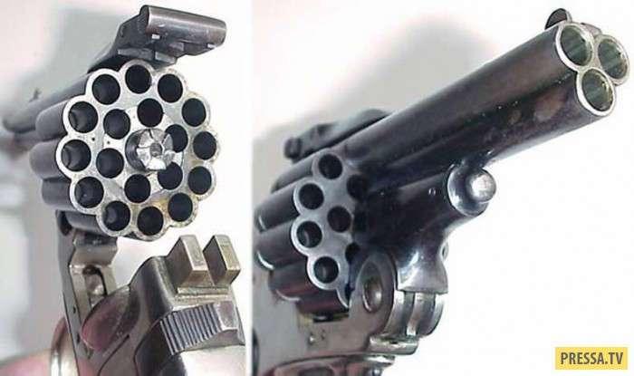 Необычное и уникальное многозарядное оружие (17 фото)