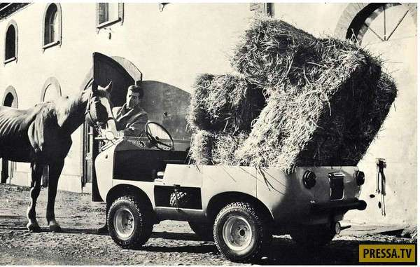 Итальянский мини-внедорожник Ferves Ranger, 1965 г. (10 фото)