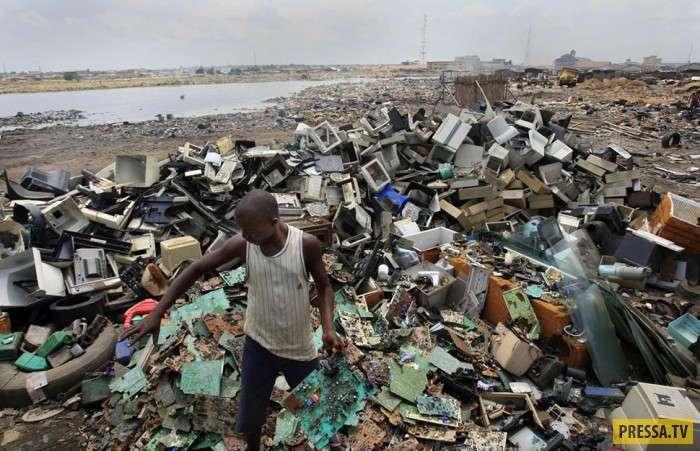 ТОП-10 самых экологически грязных мест на Земле (10 фото)