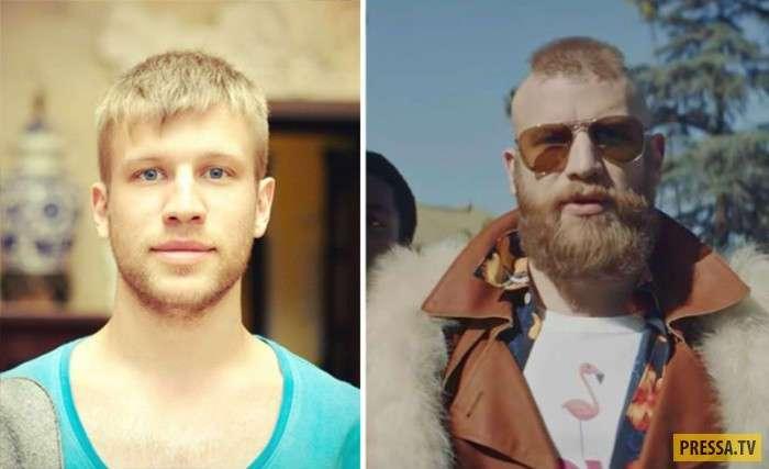 Знаменитости, которые изменили имидж (10 фото)