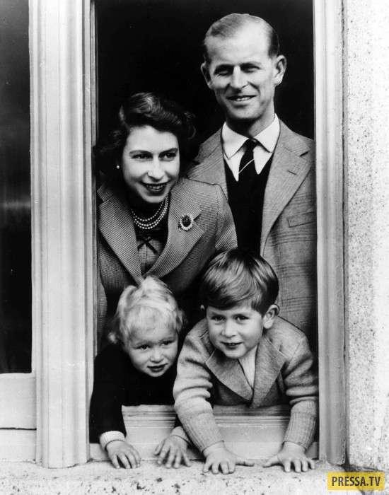 70 лет в счастливом браке - Королева Елизавета II и принц Филипп (17 фото + видео)