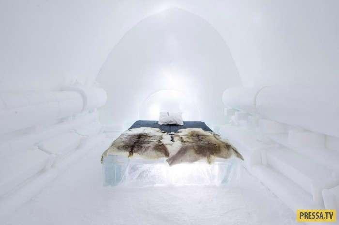 Отель изо льда (10 фото)