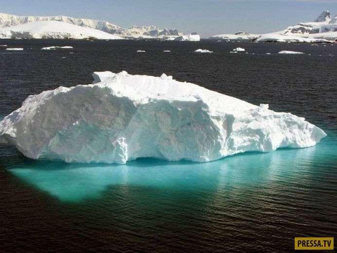 Красивое и необычное явление природы айсберги (90 фото)