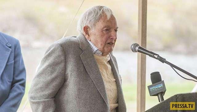 Умер Дэвид Рокфеллер - старейший миллиардер в мире (2 фото)