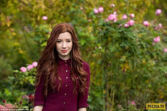 Рыжеволосые красавицы из разных стран (34 фото)