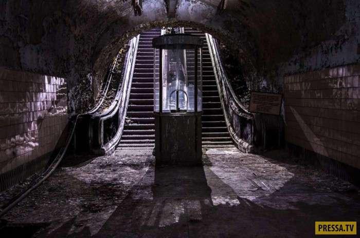Под Севастополем есть заброшенное метро ? (22 фото)