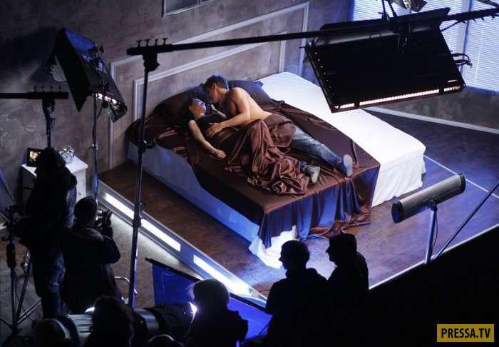 Как снимают интимные сцены в кино (7 фото)