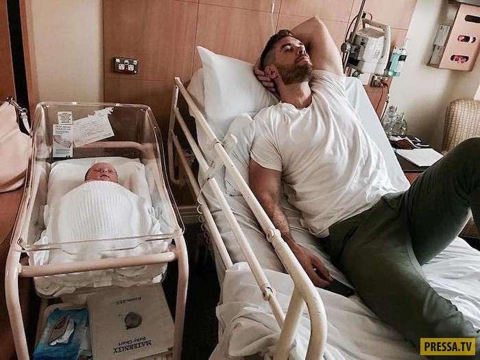 Новый флешмоб в Instagram : Отцовство без страха (15 фото)