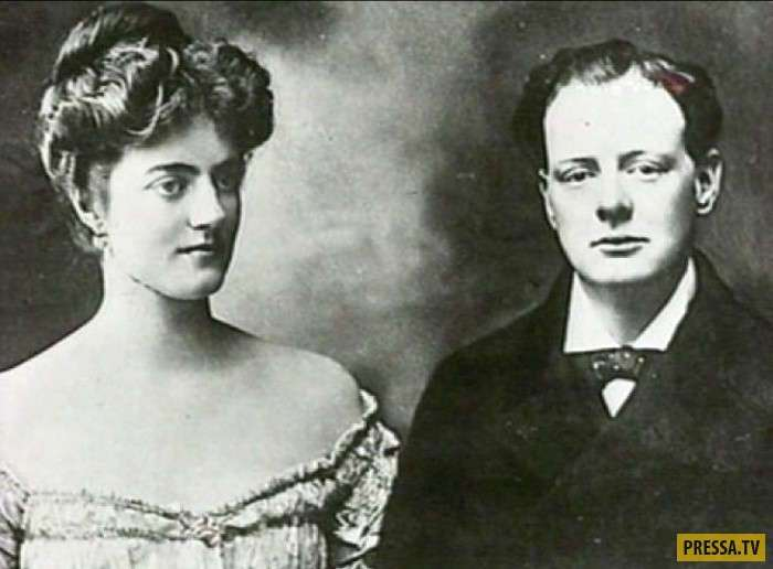 Вечная любовь - Уинстон Черчилль и Клементина Хозьер (14 фото)
