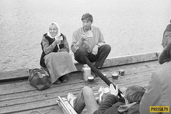 Уникальные фотографии, сделанные на съемочных площадках СССР (40 фото)