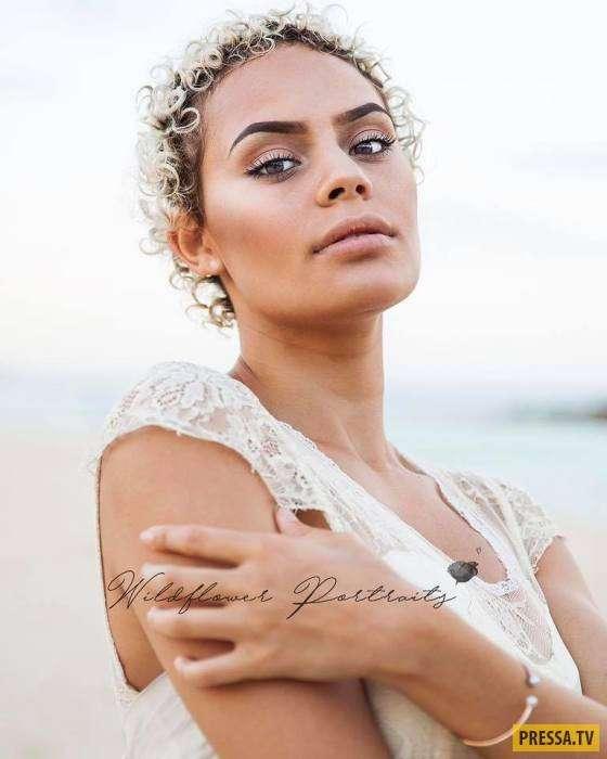 Гуала -Лала- Бэйлис (Guala -Lala- Bayles) - первая модель-абориген Австралии (15 фото)