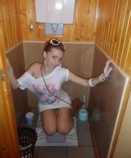 Туалетные снимки, которые сделаны настоящими безумцами