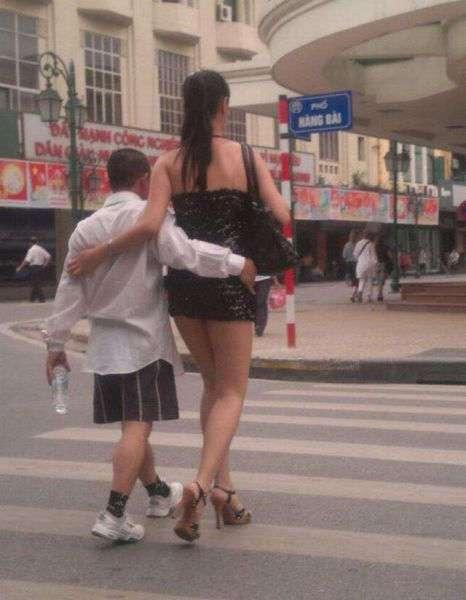Мужчину оценивают по его женщине