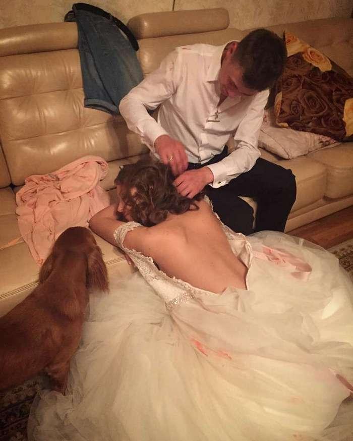 Так вот чем сейчас занимаются в первую брачную ночь