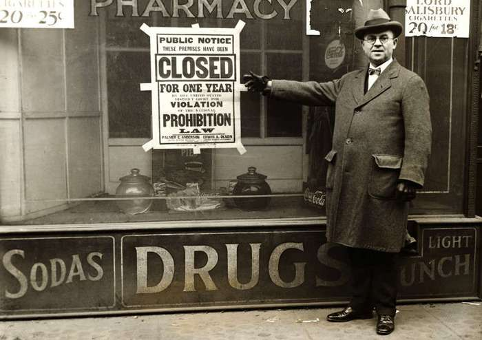 an analysis of national prohibition act also known as the volstead act