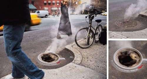Яркие примеры креативной рекламы (13 фото)