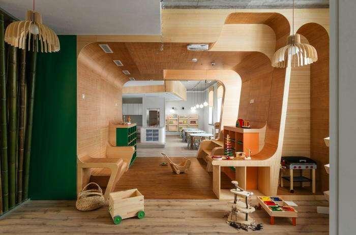 Как выглядит петербургский детский клуб «Я в домике» (12 фото)
