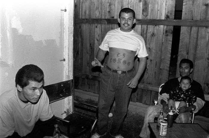 Уличная банда Лос-Анджелеса West Side Longos на фото Акселя Кестера (16 фото)