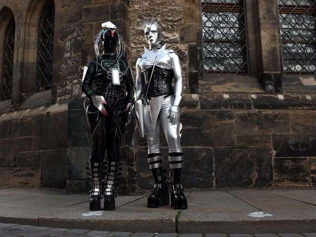 Шокирующий фестиваль в Лейпциге (44 фото)