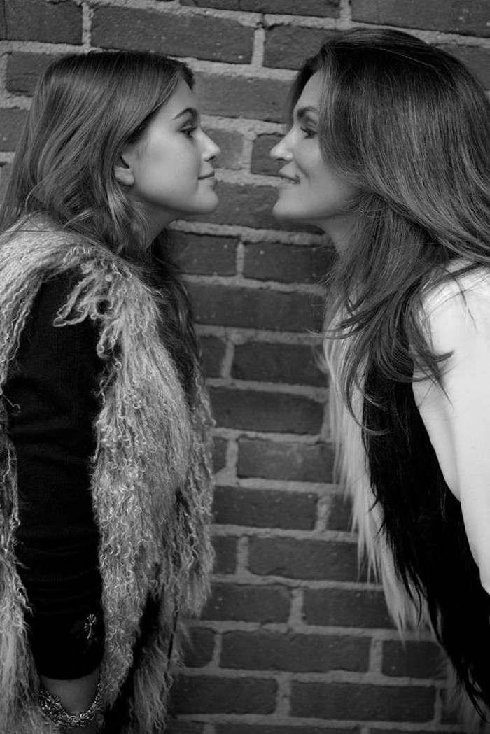 14-летнюю дочь Синди Кроуфорд назвали самой красивой девушкой в мире (18 фото)