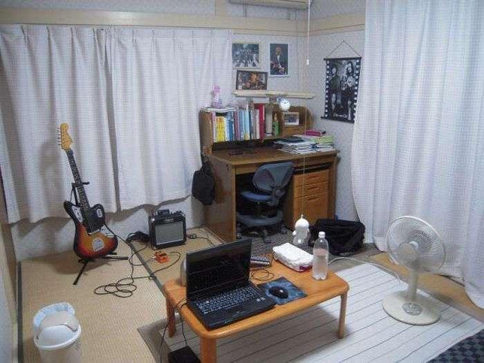 Комнаты обычных японцев (59 фото)