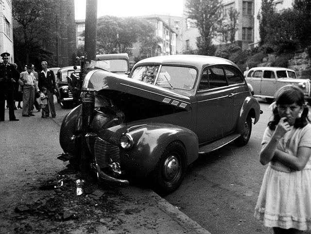 Ретро аварии (12 фото)