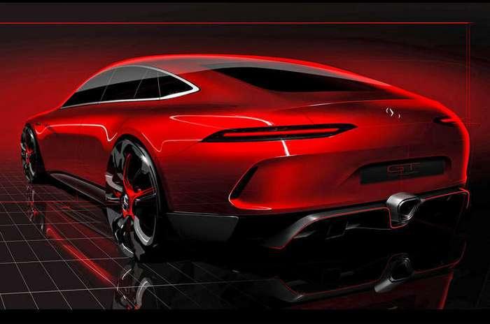 Одним глазком:Mercedes-AMG GT Concept