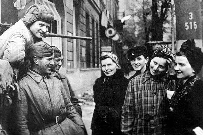 Как на самом деле жилось в оккупированной Германии (5 фото)