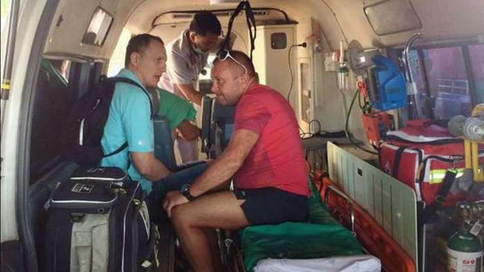Российский турист, сутки плававший с буем в открытом море, рассказал, как ему удалось выжить