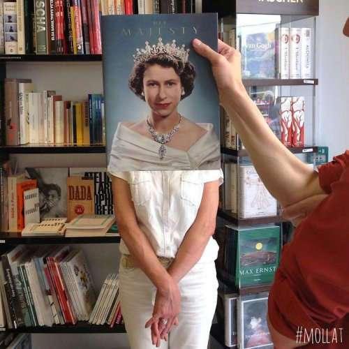 Чем занимаются на работе нескучные сотрудники книжного магазина Mollat (33 фото)