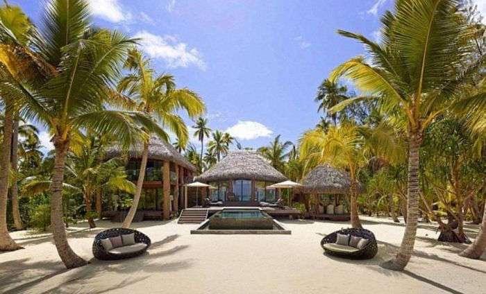 Остров Марлона Брандо во Французской Полинезии (11 фото)