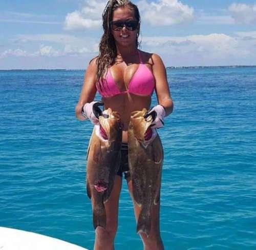 Горячие рыбачки (31 фото)