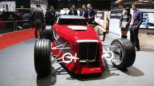Футуристичные концепт-кары Женевского автосалона (17 фото)